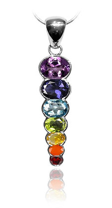 Rainbow Chakra Pendant