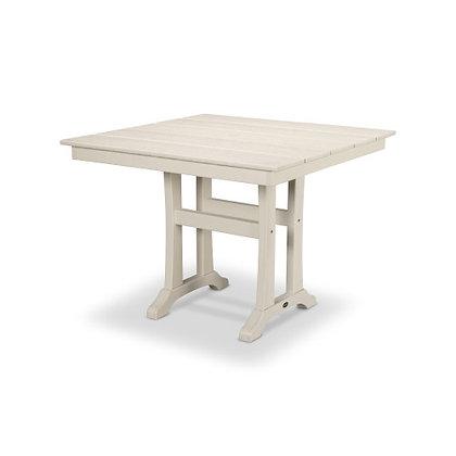 "Quick Ship POLYWOOD® Farmhouse 37"" Dining Table PL81-T1L1"