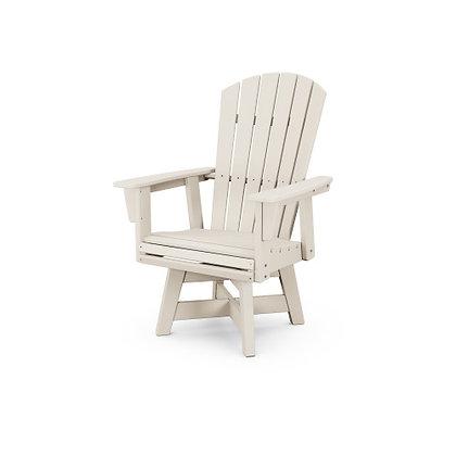 POLYWOOD® Nautical Adirondack Swivel Dining Chair ADDSV610