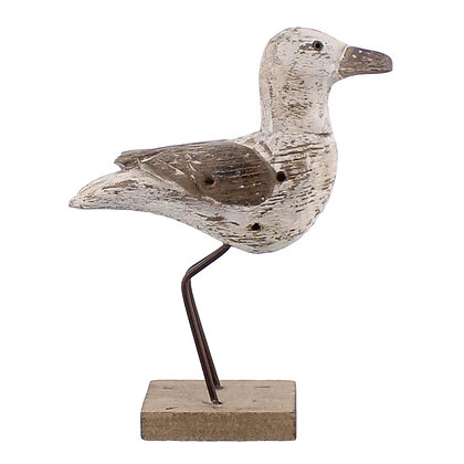 KELSO WOOD SEAGULL - LRG - WHITE & NATURAL WOOD