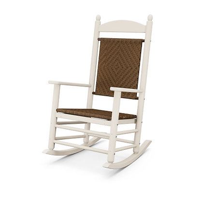 POLYWOOD® Jefferson Woven Rocking Chair K147
