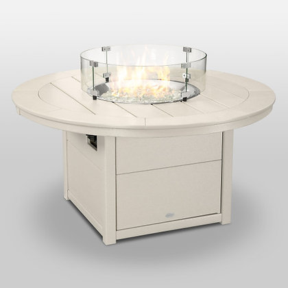 """POLYWOOD® Round 48"""" Fire Pit Table CTF48R"""