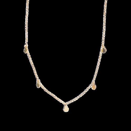 Silver necklace ''Nemesis''