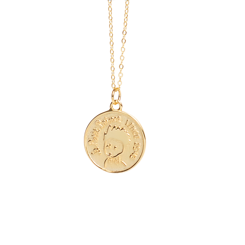 "Goldplated chain  ""Petit prince"""