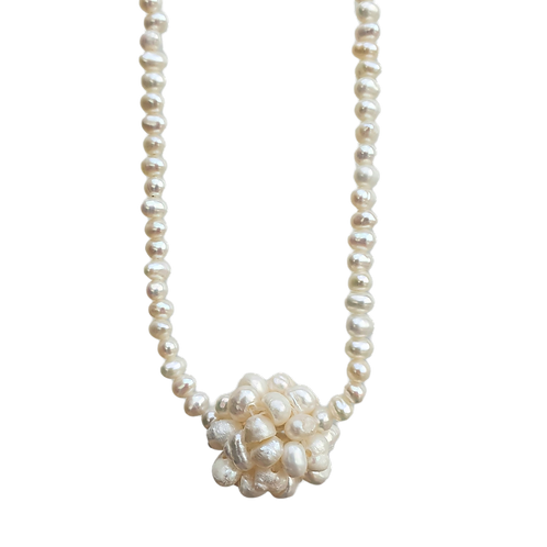 Necklace ''Pearl of mother''