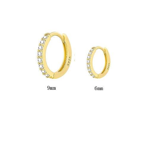 Circle Hoop earrings