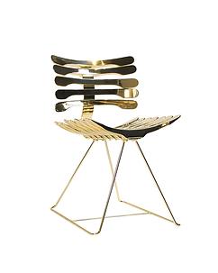 Cadeira Esqueleto Gold