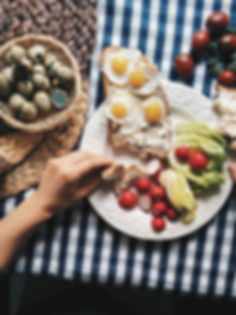 Quail Eggs Breakfast
