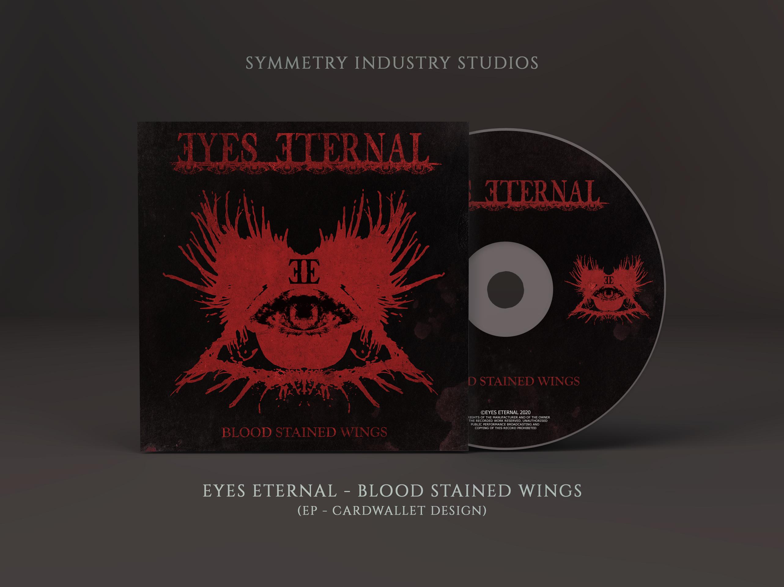 Eyes Eternal - Blood Stained Wings (Mockup)