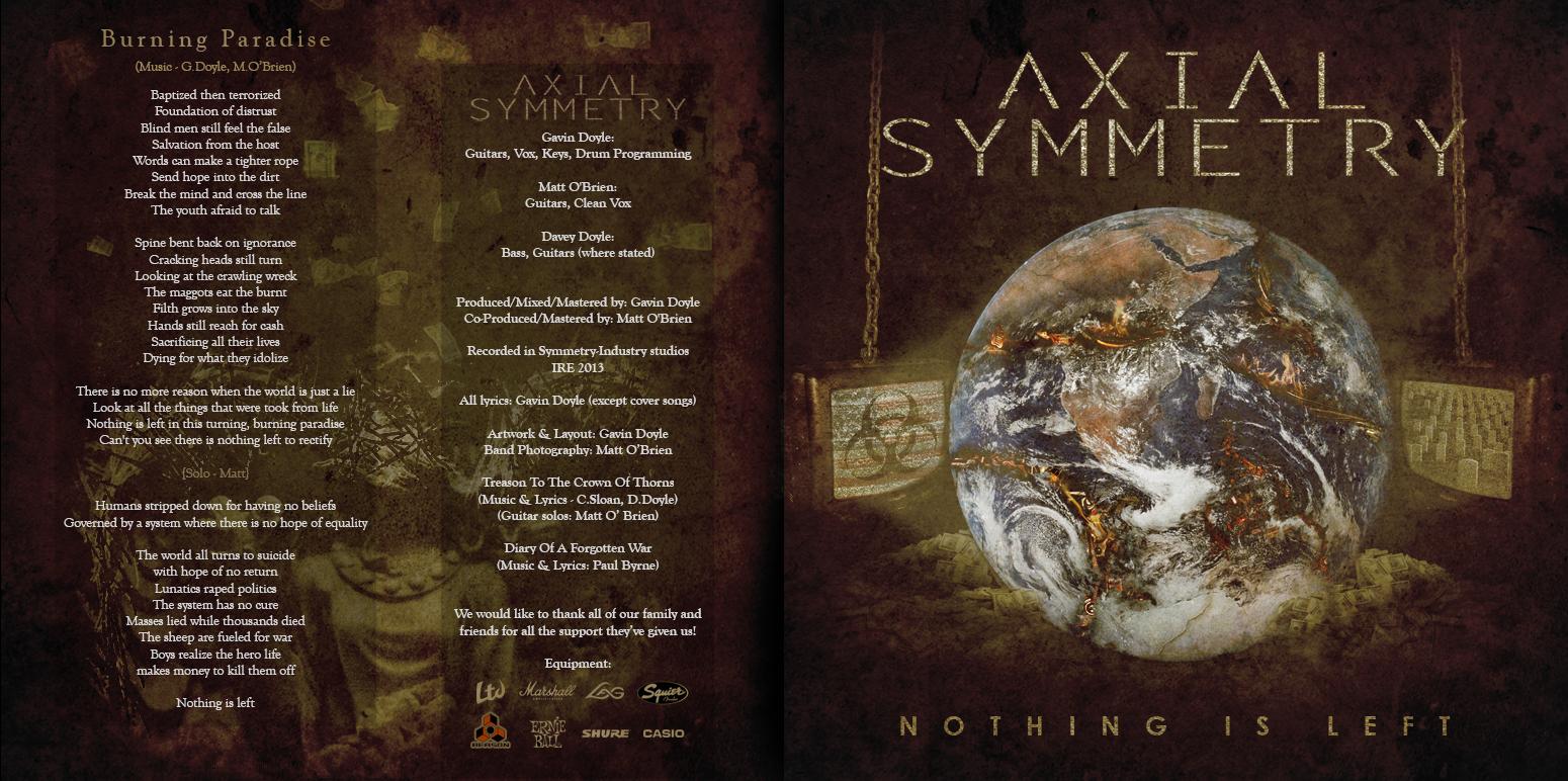 Axial Symmetry - NIL (Booklet 1)