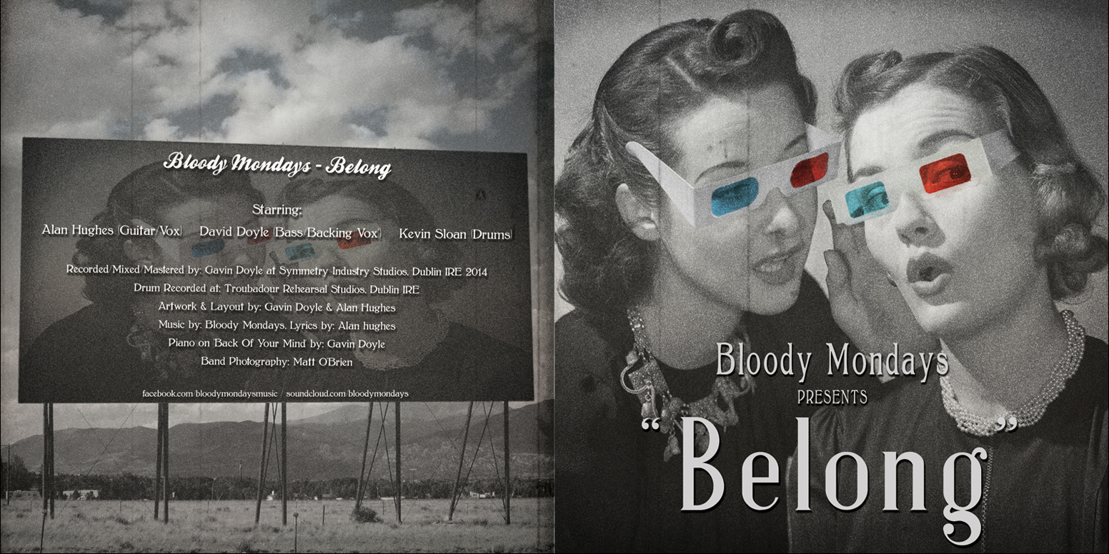 Bloody Mondays - Belong (Booklet 1)