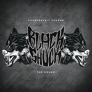 Black Shuck Counterfeit Throne The Hound Single Cover Art