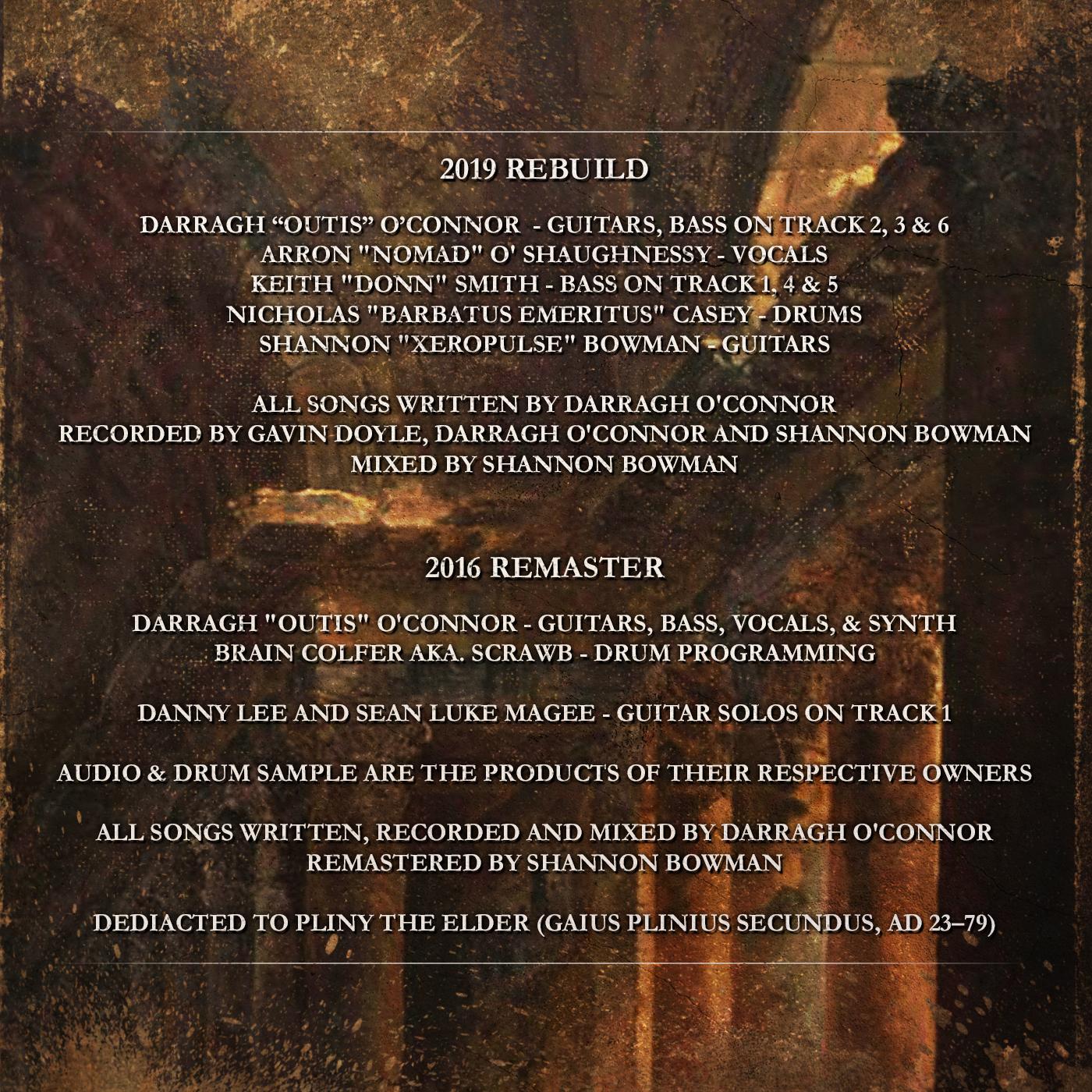 Horrenda - Neronian Times (Remaster) Disc Panel
