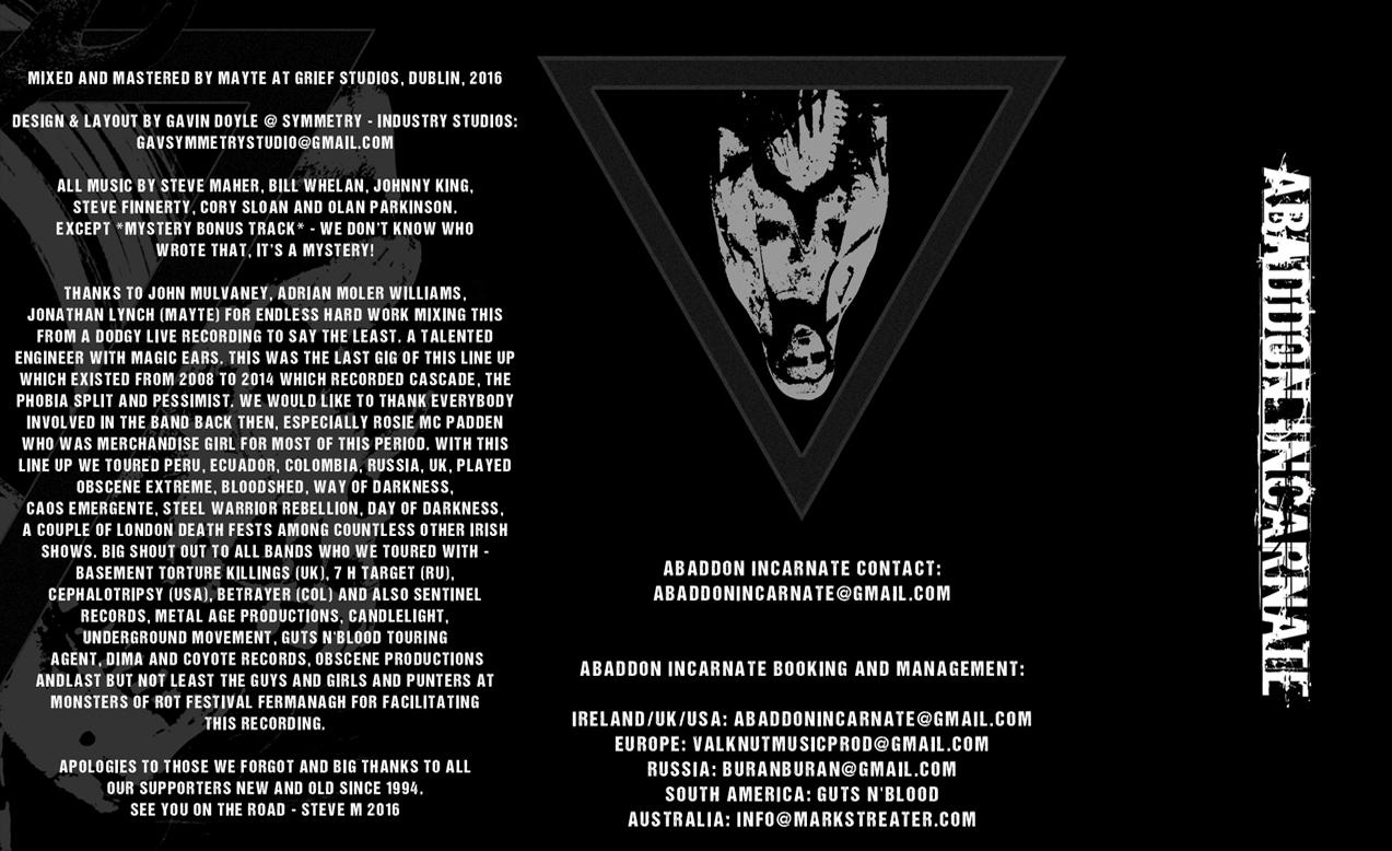 AI LP Tape (Inside Spread)