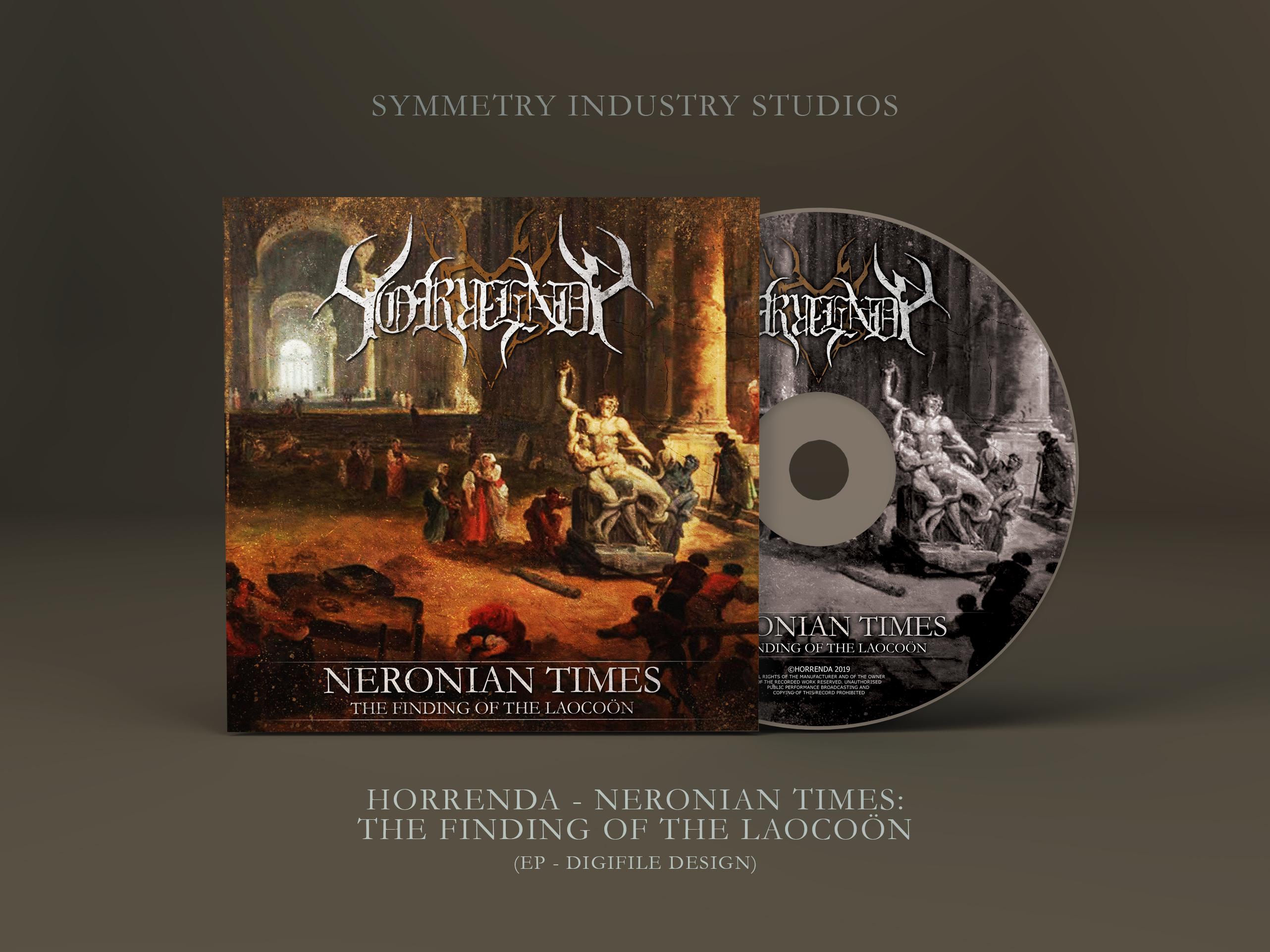 Horrenda - Neronian Times (Remaster) Mockup