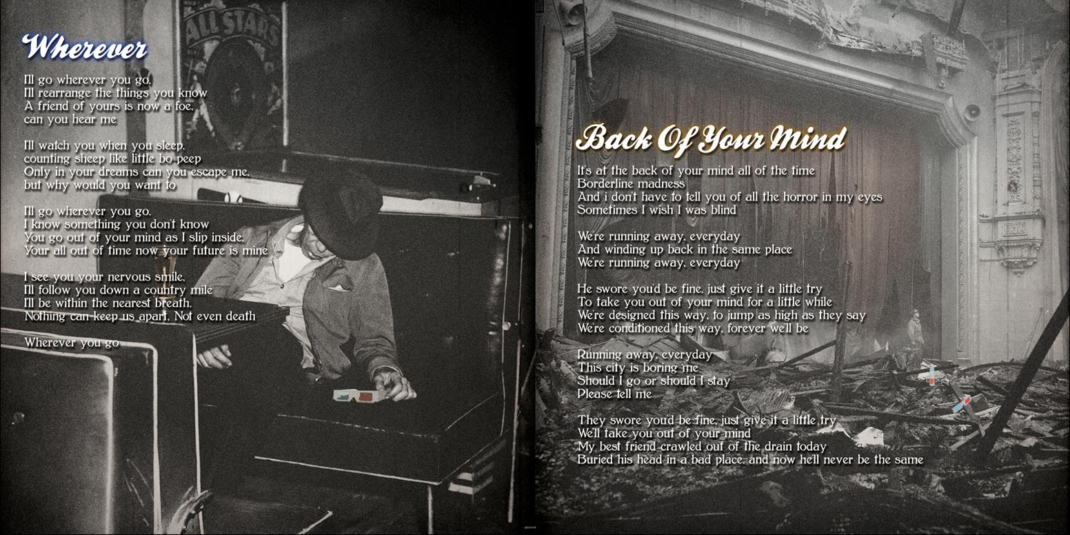 Bloody Mondays - Belong (Booklet 2)
