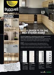 Byggvell, magasin annonser