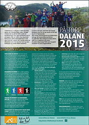 På topp i Dalane 2014, Dalane Friluftsråd