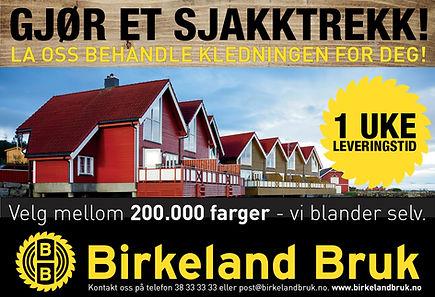 Byggvell, Birkeland Bruk avisen