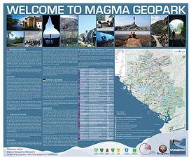 Generell Magma Geopark skilt