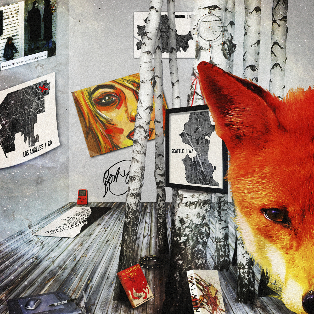 Fox Collage