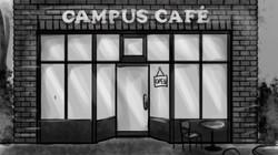 Cafe Exterior Background