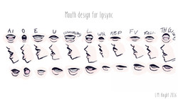 Mouth Design for lip-sync