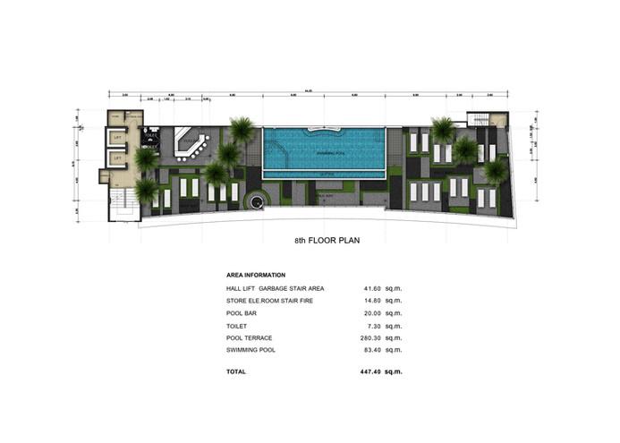 Babylon Sky Garden eigth floor plan