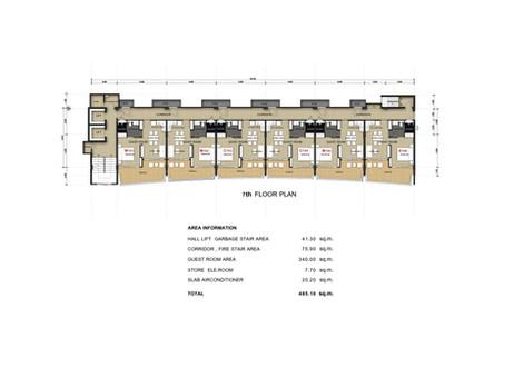 Babylon Sky Garden seven floor plan