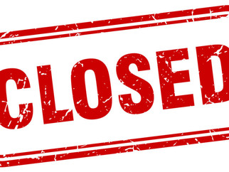 Library Closed due to Weather MONDAY, 2/1