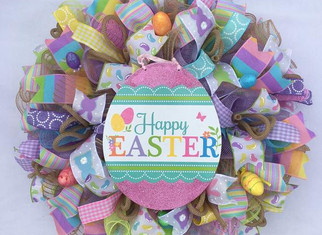Easter Wreath Workshop with Fabulous Patty G!
