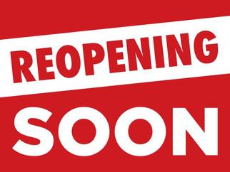 Library OPEN beginning 7/9!