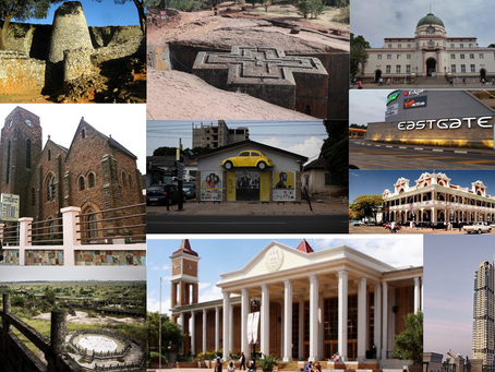 Ancient church or shopping mall? The search for Africa's favourite building
