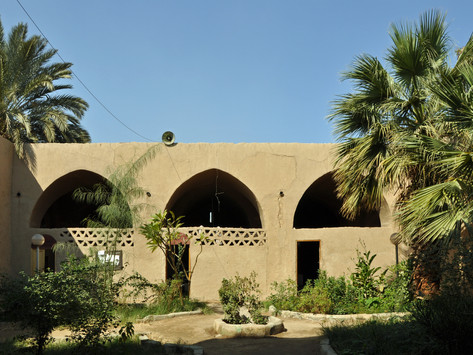 Hassan Fathy's New Gourna Village project, Egypt