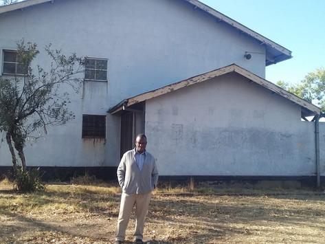 Cyril Jennings Hall in Highfield (CJ). Harare, Zimbabwe
