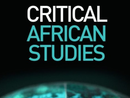 Daniel Mulugeta Gebrie article published in the Journal of Critical African Studies.