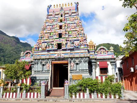 The Arul Mihu Navasakthi Vinayagar temple, Seychelles