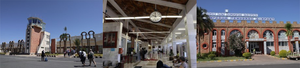 All buildings incorporate significant references to the historic buildings to which the airports provide a connection