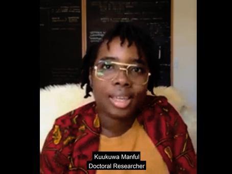 Kuukuwa Manful talks about the project