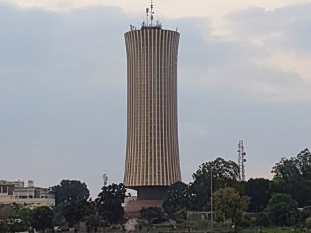 The Nabemba tower in Brazzaville, Republic of the Congo