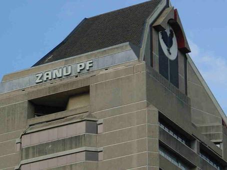 ZANU PF headquarters in Harare, Zimbabwe