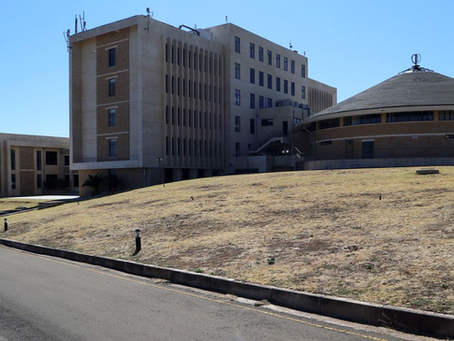 The New Parliament Building, Mpilo Hill, Maseru