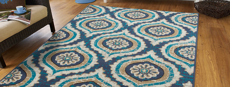 Modern Area Rugs For Living Rooms Navy