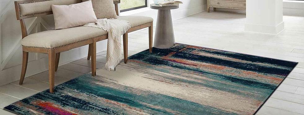 Modern Area Rugs Multi Color Southwestern