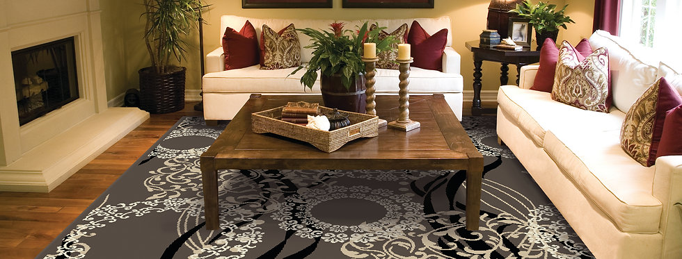 Luxury Area Rugs for Living Room, Brown
