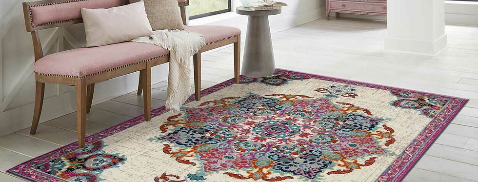 Modern Color Traditional Area Rugs Purple