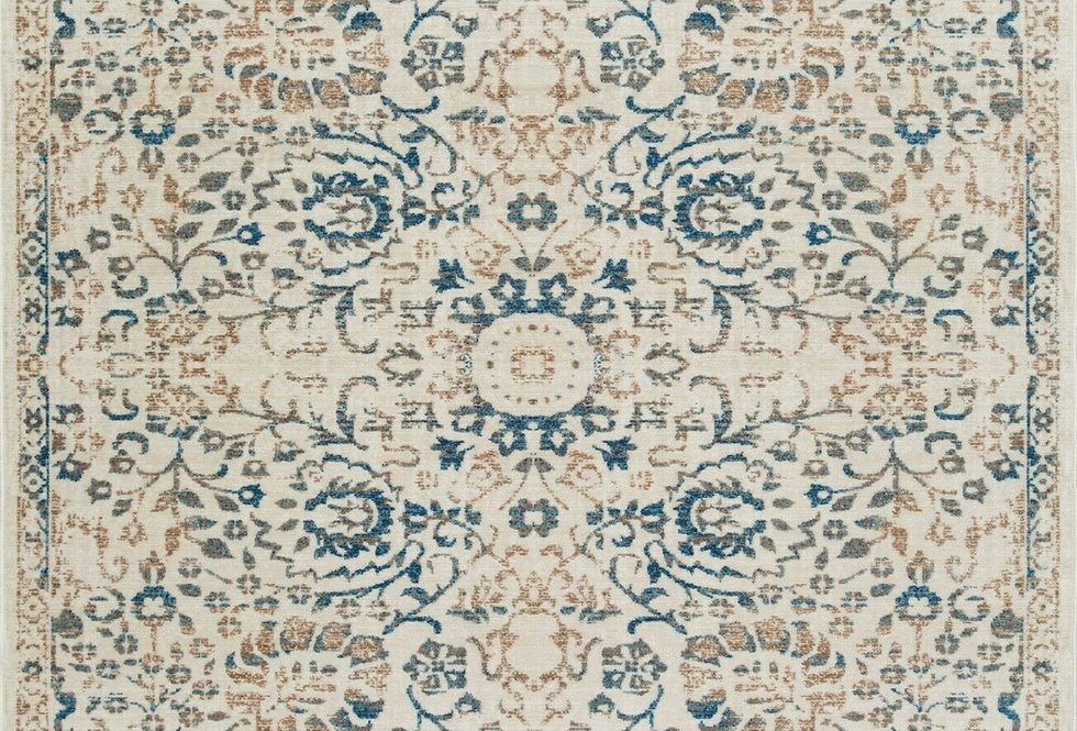 Modern Area Rugs Distressed Blue