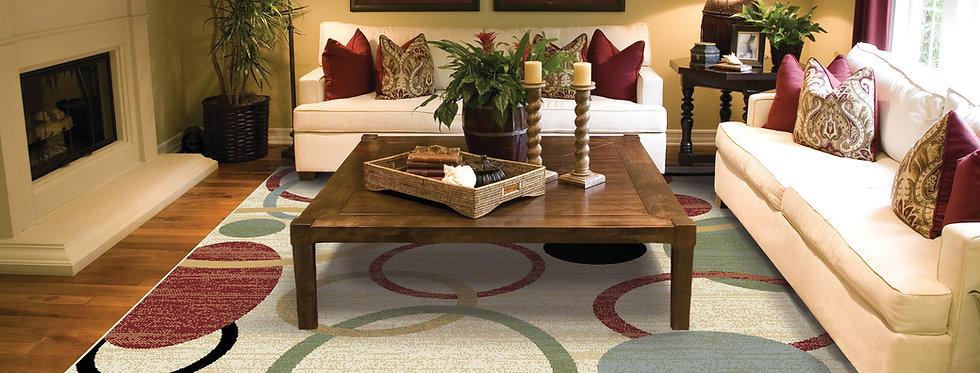 Modern Cream Area Rug For living Room