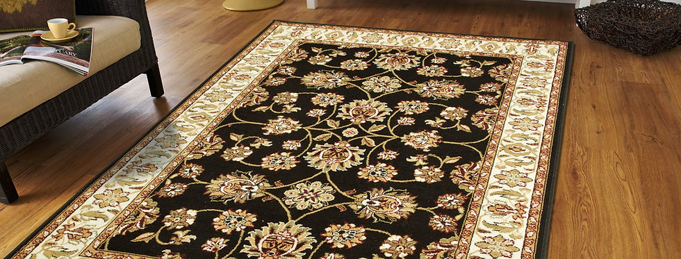 Traditional Area Rugs Black Persian Rug