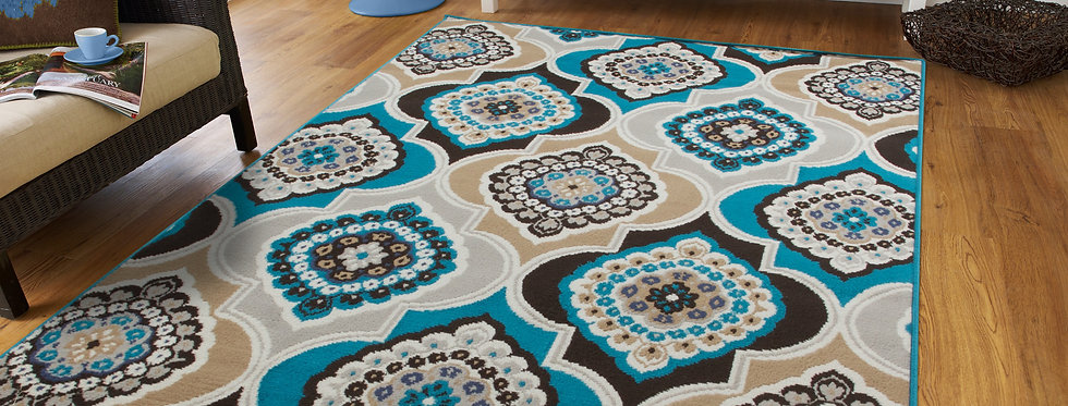Modern Area Rugs For Living Room Blues